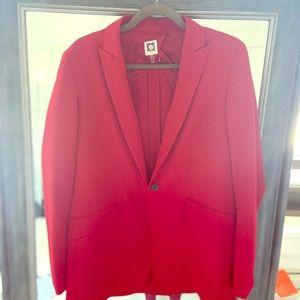 Anne Klein red blazer